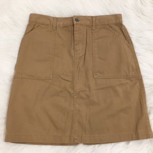I.e relaxed Khaki Skirt Sz 8